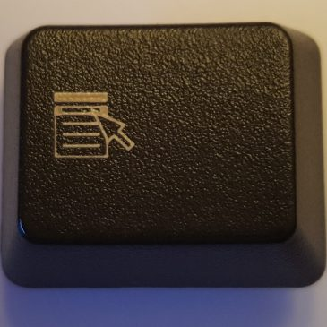 A picture of the Applications Key from a typical keyboard