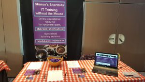 Picture of the Sharon's Shortcuts Exhibition Stand