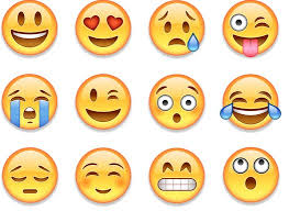 A selection of emoji images