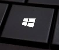 Picture of the Windows key on a Windows 10 PC