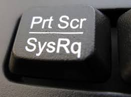 A picture of the Prt Scr key