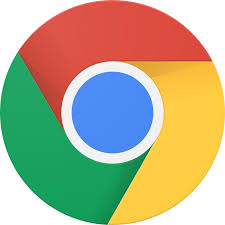 The Google Chrome logo: a circle with a small blue circle in the middle and the colours red, green and yellow segments around the outside.